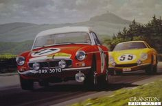 Historic Rally & Classic Race Cars: MGB - 50 anos de sucesso!