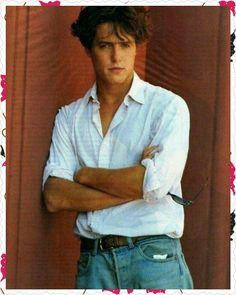 Hugh Grant Young, Hugh Grant Notting Hill, Man Crush, Gary Oldman, Cute Guys, Pretty Boys, Celebrity Crush, Pretty People, Keanu Reeves