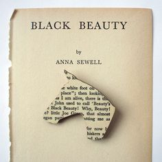 Black Beauty by Anna Sewell | 17 Literary Brooches That Let You Wear Your Favorite Book