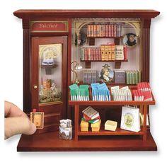 Complete Book Shop Shadow Box Display