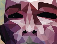 """Check out new work on my @Behance portfolio: """"Polygons Face..."""" http://on.be.net/1bUVTIb"""