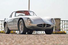 definemotorsports:    Alfa Romeo 2000 Sportiva Coupeby Bertone (1954)