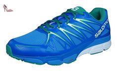 Salomon X-Scream Foil - Chaussures de running - bleu Modèle 43 1/3 2016 - Chaussures salomon (*Partner-Link)