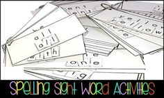 Sight Word Activities for ALL Learners!