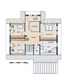 Grundriss Erdgeschoss: STOMMEL HAUS – WILDROSE