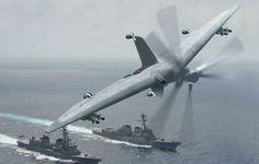DARPA quer drone militar que aterre em pequenos navios - EExpoNews