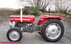 Massey Ferguson 148, left side
