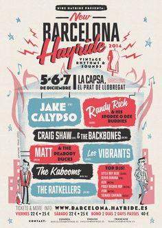 New Barcelona Hayride. Back in Town!! 5-6-7 December 2014. http://barcelona.hayride.es/
