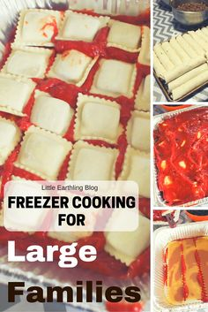 Freezer Cooking for Large Familes
