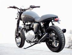 Simple Triumph custom.