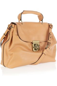Chloé Elsie leather shoulder bag - this bag looks soft as butta!