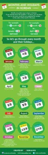 Meses y días festivos