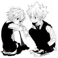 Kyoko et Tsuna