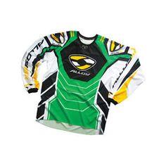 a alloy motocross mx jersey y camisa 05 gasolina verdeamarillo enduro d4b61e49551