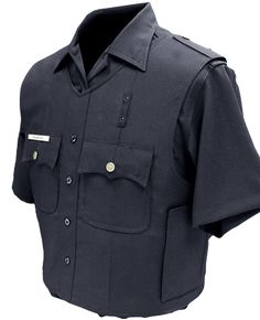 U.S. Armor | Uniform Shirt Vest Carrier (Front) | Custom Fit Body Armor | You'll Wear It! | www.usarmor.com