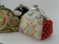 no 128 The Andrea Coin Purse PDF Pattern by sewingwithme2 on Etsy, $5.00