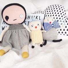 Häsel ind Gretel online concept store for children clothes and accessoires // haselundgretel.at // Lucky Boy Sunday dolls