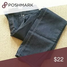 LOFT Modern straight leg size 12 Dark straight leg jeans from LOFT. No whiskering or fading.  Size 12, new with tags LOFT Jeans Straight Leg