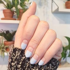 This Nail Polish Trend is the Best Way to Make Your Mani Last Longer - FASHION Magazine. Love this! Must do this weekend!