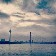 This is my most liked #Picture on #Instagram now on #Pinterest #Enjoy ,-) #Düsseldorf #Rhein #NRW