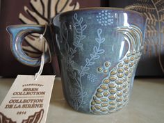 Starbucks anniversary stone ware mug 2014 US version.