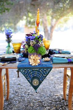 Purple, Turquoise and Gold  – An Egyptian Inspired Styled Shoot