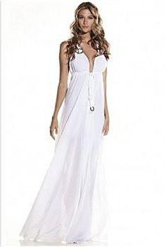 White Cotton Beach Dress | ... -the-Rack Bride: Casual White ...