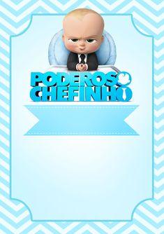 Uau! Veja o que temos para Convite Festa Poderoso Chefinho Boss Birthday, 1st Boy Birthday, Baby Cartoon Drawing, Instagram Frame Template, Boss Baby, Baby Invitations, Baby Shower, Disney Characters, Lucca