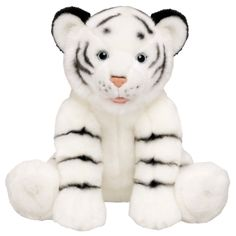 Stuffed Animals - Build-A-Bear Workshop White Tiger Snow Tiger, Build A Bear Outfits, Bear Shop, Bear Party, Childhood Toys, Cool Cats, Plushies, Cuddling, Workshop