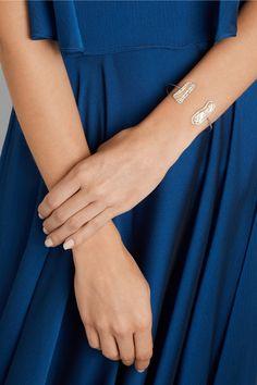 Kimberly McDonald   18-karat white gold, pearl and diamond cuff   NET-A-PORTER.COM
