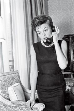 Judy Garland  [Photo By Dick Swift] Click through for highlights of Judy Garland's interview with WWD in 1967