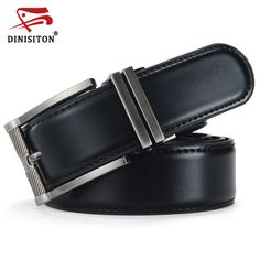 DINISITON New Designer Belts Men High Quality Luxury Brand Leather Belt Pin Buckle Black Business Trouser Strap ceinture femme