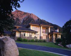 87 best modern traditional houses images on Pinterest   Modern ... Large Modern Home Design Ext Html on