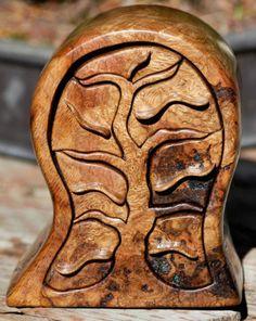 boite à bijoux en bois, modèle artistique