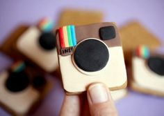 #SoMeSweets Goodies for Geeks: Social Media  Instagram Cookie
