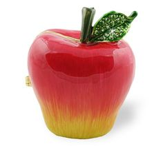 "Objet d'art Release No.245 ""Pomme Rouge"" Red Apple Handmade Jeweled Metal Trinket Box Objet d' Art http://www.amazon.com/dp/B003WYXNKU/ref=cm_sw_r_pi_dp_Bi7Bvb1GESC5M"