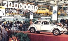 In January 1971, the 20 millionth VW rolled off the assembly line.