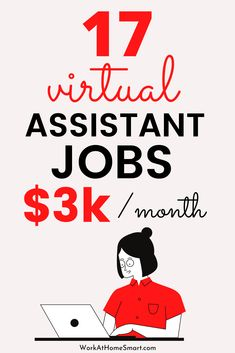 Wondering where to find virtual assistant jobs for beginners? Worry not! Here's a list of 17 companies hiring for virtual assistant jobs online. Companies Hiring, Virtual Assistant Jobs, Work From Home Companies, Home Jobs, Online Jobs, Social Media, Work From Home Business, Social Networks, Social Media Tips
