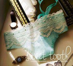 Lenceria fina comestible / edible underwear by Casa Palac and Lis Palacios