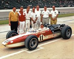 1966 Bobby Unser. Boy, that is one cool set-up…