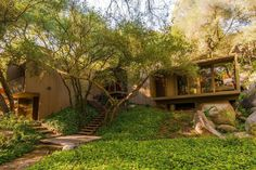 A Modest Midcentury Perch Hits the Market in Hidden Meadows - House of the Day - Curbed National