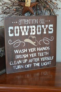 cowboy bathroom pictures for decor - Google Search
