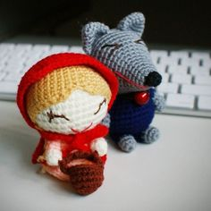 red riding hood amigurumi pattern -$8.88