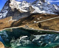 Eiger Nordwand, Grindelwald, Schweiz