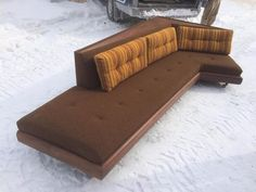 another gorgeous mid century sofa design by architect adrian