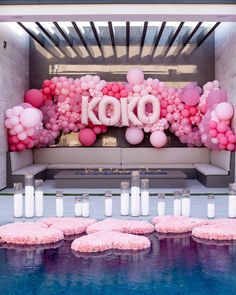Pink Birthday, 1st Birthday Girls, Birthday Bash, Boss Birthday, 25th Birthday Parties, Balloon Garland, Balloon Decorations, Balloons, Balloon Backdrop