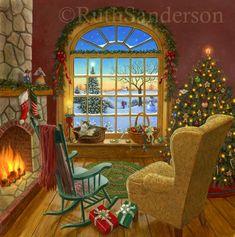 Ruth Sanderson (460 работ) » Картины ...