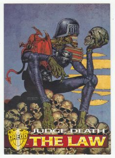 Judge Dredd - The Epics # 82 Judge Death - Edge 1995