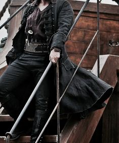Image about Queen in aes: Salt Decks of a Boy Capitan by ø Thalia, A Darker Shade Of Magic, Pirate Queen, Black Sails, Pirate Life, High Fantasy, Romance, Character Aesthetic, One Piece