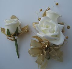Corsage and Boutineer! <3
